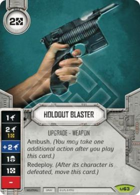 holdout blaster