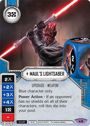 mauls lightsaber