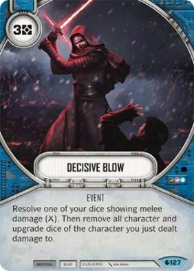 decisive blow
