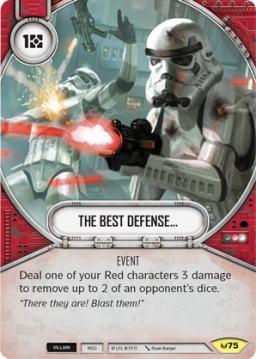 the best defense