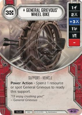 general grievous wheel bike