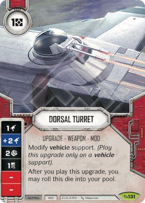 Dorsal Laser Turret